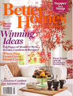Better Homes and Gardens September 2008