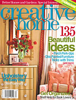 creative home magazine features our products